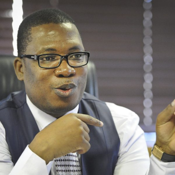 JOHANNESBURG,SOUTH AFRICA – APRIL 29: MEC for education Panyaza Lesufi speaks candidly during an interview on April 29, 2015 in Johannesburg, South Africa. Lesufi is encouraging Afrikaans speaking schools to allow all students into the system regardless of their first language in order to ease the strain on the schooling system as a whole.(Photo by Gallo Images / Beeld / Simone Kley)